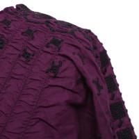 Comptoir des Cotonniers camicetta lilla