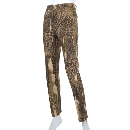 Christian Dior Jeans with animal print