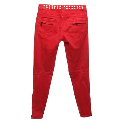 Pierre Balmain Jeans in red