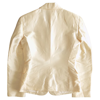 Gianni Versace Seidenblazer in Off-White