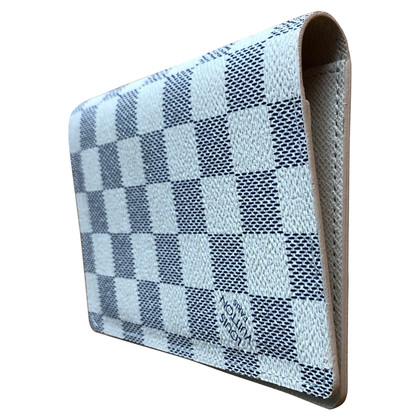 Louis Vuitton Passport case from Damier Azur Canvas