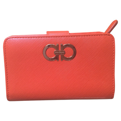 Salvatore Ferragamo Wallet in orange