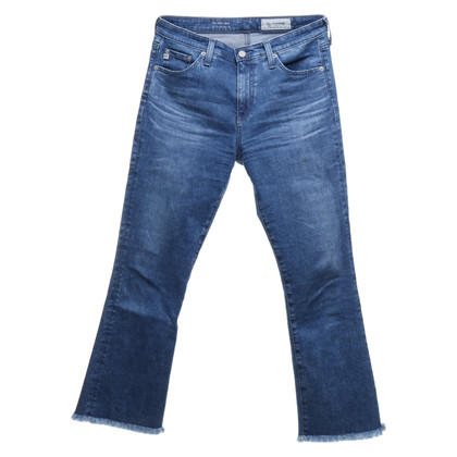 Adriano Goldschmied Jeans with fringed hem