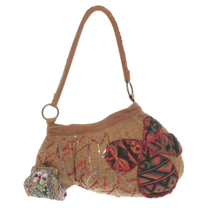 Antik Batik Handbag with applications