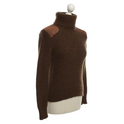 Ralph Lauren Pullover in maglia marrone