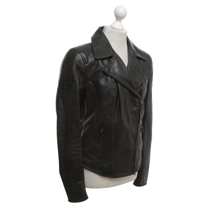 Other Designer Matchless - biker jacket in dark gray