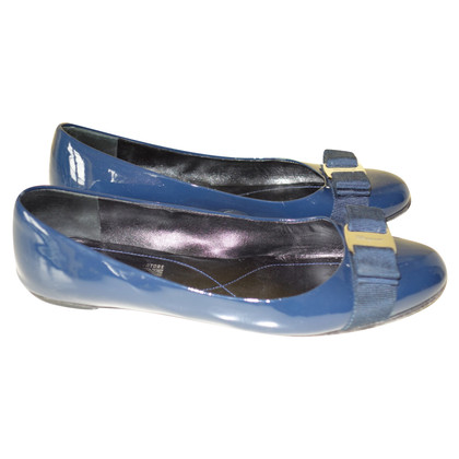 Salvatore Ferragamo Ballerina's patent leather