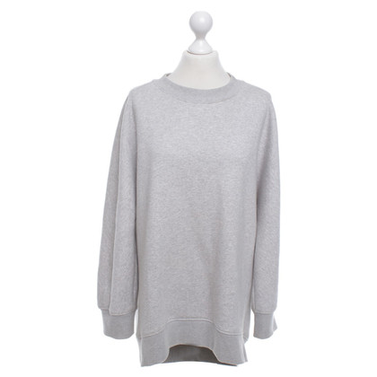 Balenciaga Sweatshirt in mottled light gray