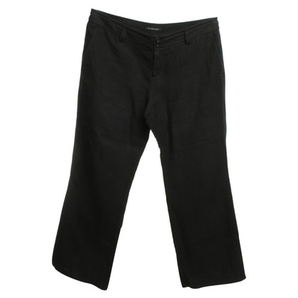 Strenesse Linen trousers in black