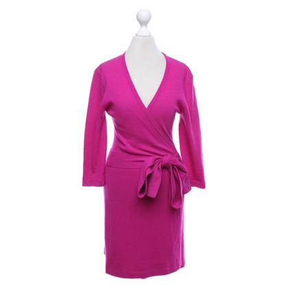 Diane von Furstenberg Kleid in Fuchsia