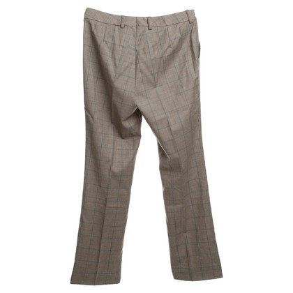 Bogner Plaid Virgin wool pants