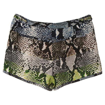 Diane von Furstenberg Silk shorts with animal print