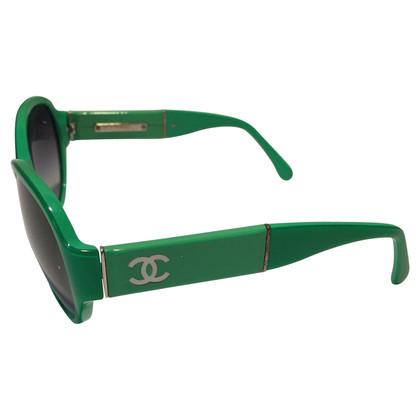 Chanel Occhiali da sole verdi