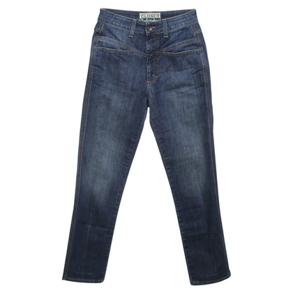 "Closed Jeans ""Pedal Pusher"" in used look"