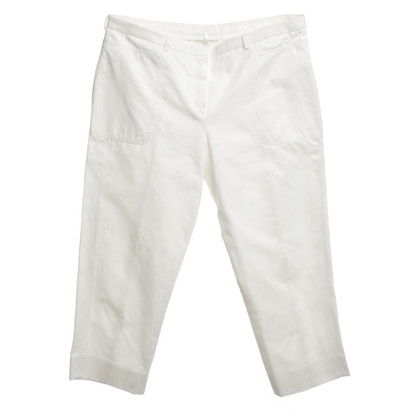 Jil Sander 3/4 pants in white