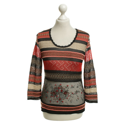Christian Lacroix top with pattern