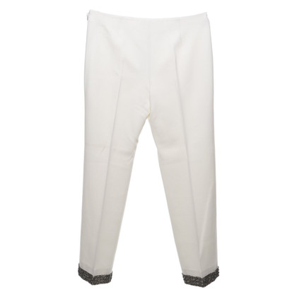 Agnona trousers in white