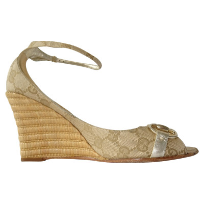 b68376aaab81 Gucci Wedges Second Hand  Gucci Wedges Online Store