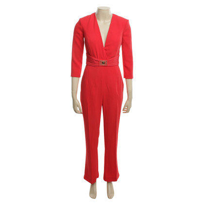 Elisabetta Franchi Jumpsuit in red