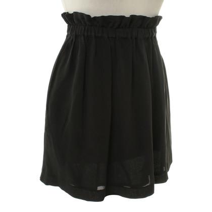 Set skirt in black