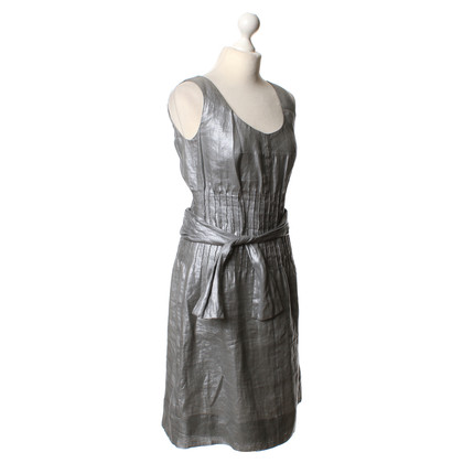 René Lezard Dress in silver