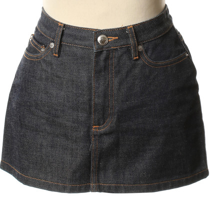 A.P.C. Mini-Jeansrock in Blau