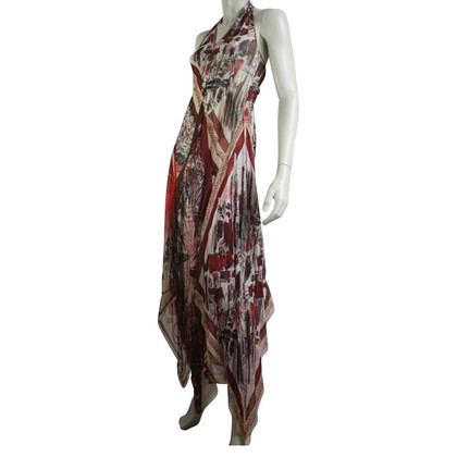 Jean Paul Gaultier Halter dress in silk