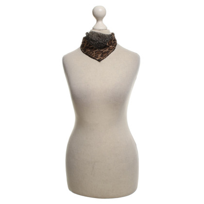 Dolce & Gabbana Zijden sjaal met patronen