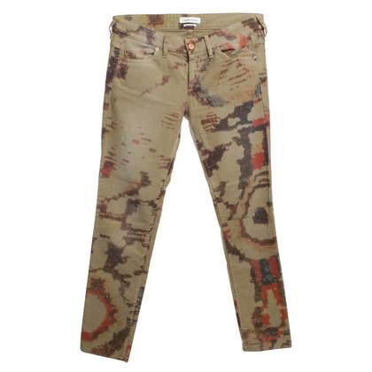 Isabel Marant Jeans mit Batikmuster