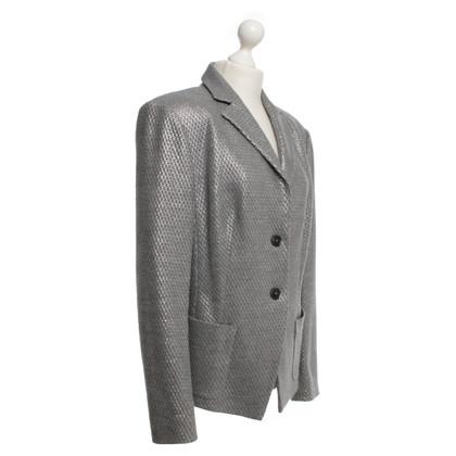 Laurèl giacca sportiva color argento