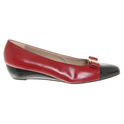 Salvatore Ferragamo pumps en rouge