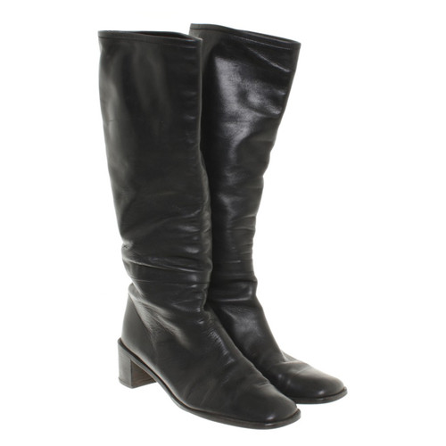 fb1b411c01e Gucci Black boots - Second Hand Gucci Black boots buy used for 140 ...