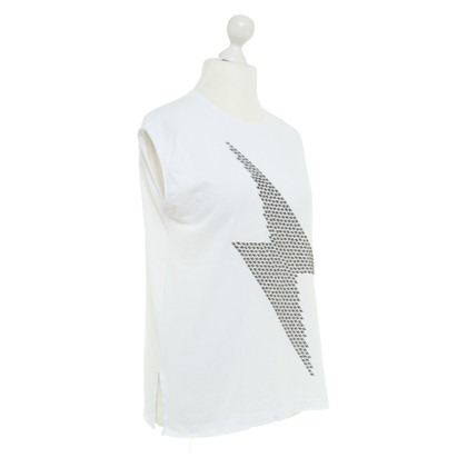 Drykorn top with studs