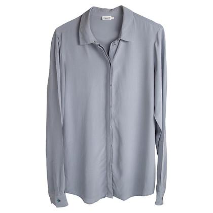 Filippa K Camicetta di seta in grigio