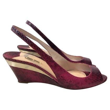 Miu Miu sandaal