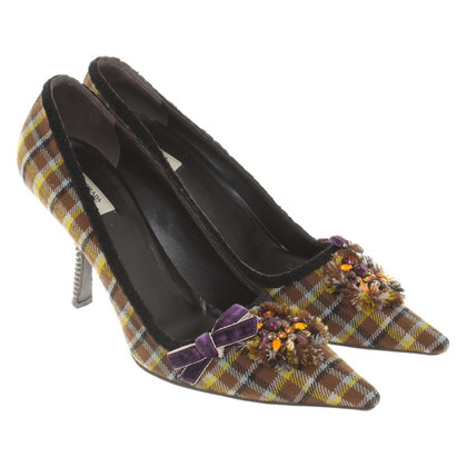 Prada pumps met patroon
