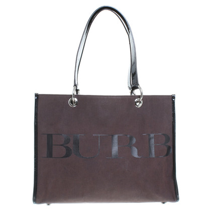 Burberry Borsa a mano marrone/nero