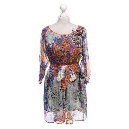 Max Mara Zijden blouse met patroon