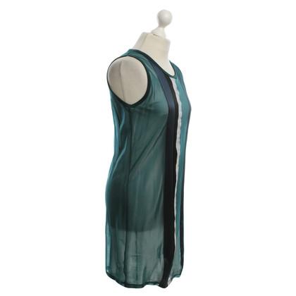 Balenciaga Kleid in Petrol