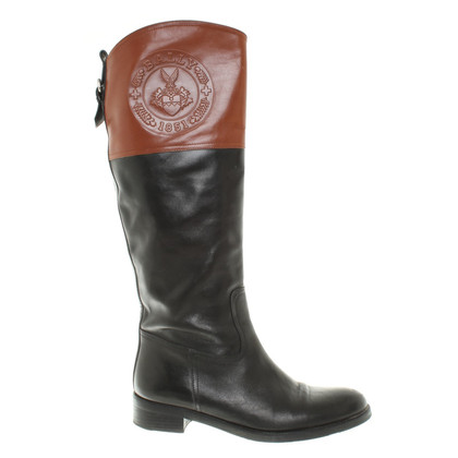 Bally leather boots