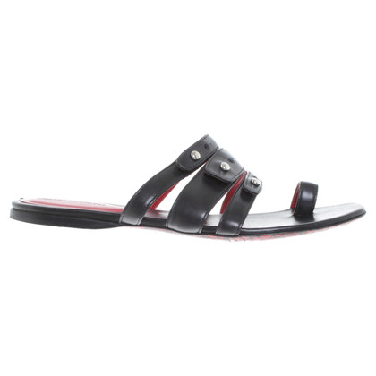 Cesare Paciotti Sandals in zwart