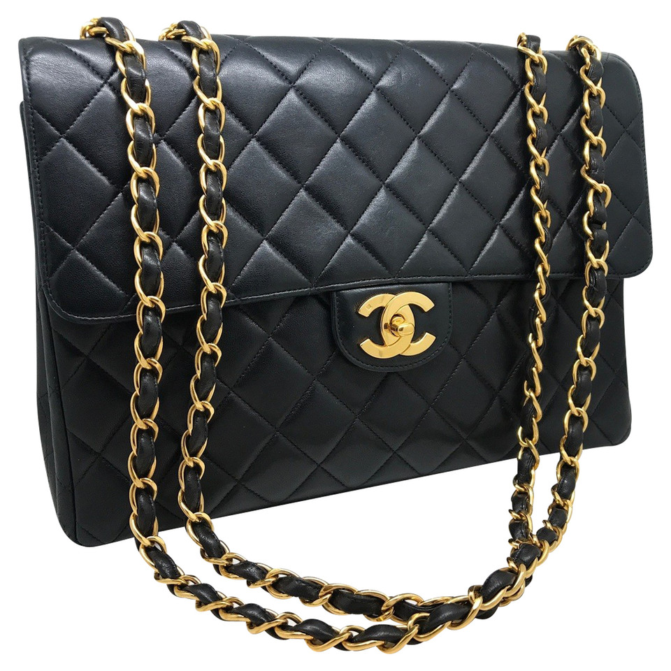 chanel jumbo flap bag buy second hand chanel jumbo flap bag for 3. Black Bedroom Furniture Sets. Home Design Ideas