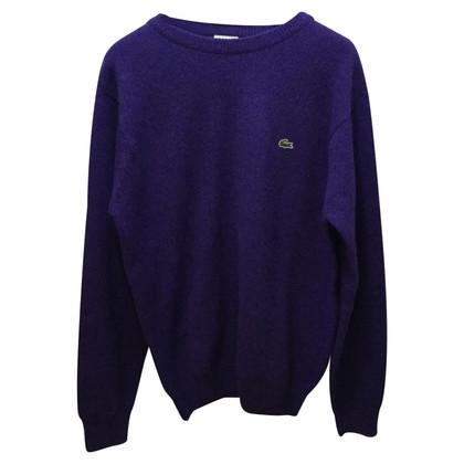 Lacoste Pullover in Violett