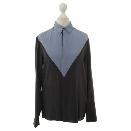 Kenzo Silk blouse in blue/grey
