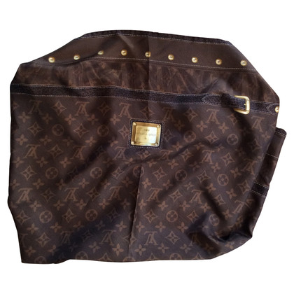 Louis Vuitton Seta marrone sciarpa