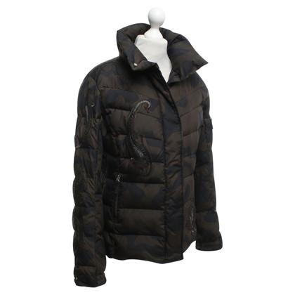 Bogner Ski jacket with camouflage pattern