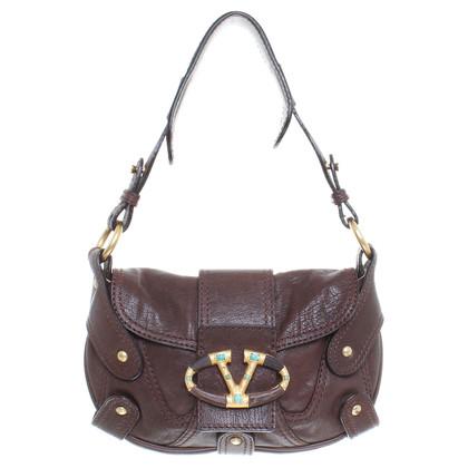 Valentino Leather handbag in Brown