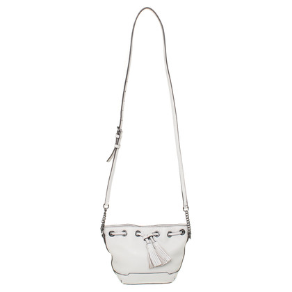 "Rebecca Minkoff ""Micro Lexi Bucket Bag"" in light grey"