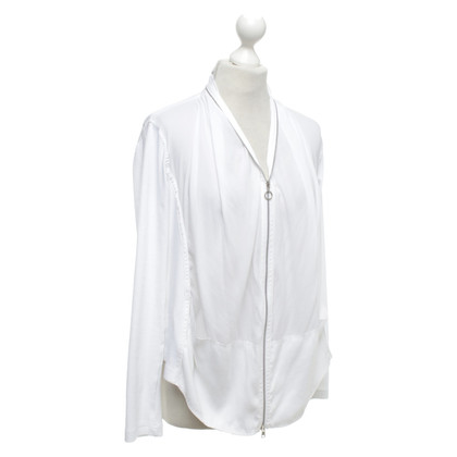Marc Cain Sporty short jacket in white