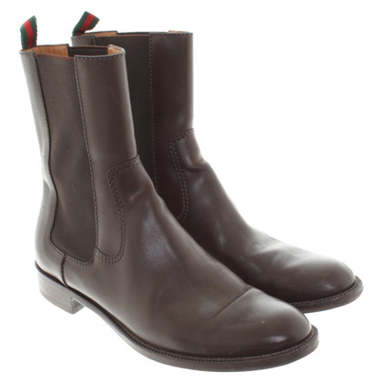 Gucci Boots with leggings in brown